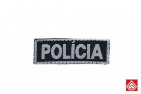 PATCH POLICIA PEQUENO - PRETO