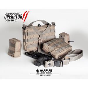 Combo Bolsa Operator 2 - Mod 01 - Coyote