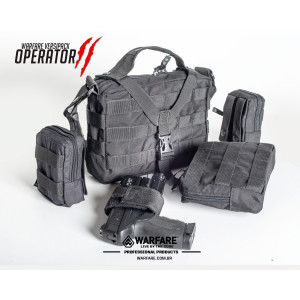 Combo Bolsa Operator 2 - Mod 01 - Preta