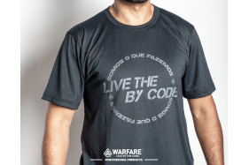 CAMISA LIVE BY THE CODE
