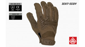 LUVA COMMAND TACTICAL IMPACT - IEXT-ICOY - COYOTE