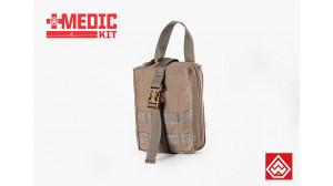 Porta kit Médico Destacável - Vermelho