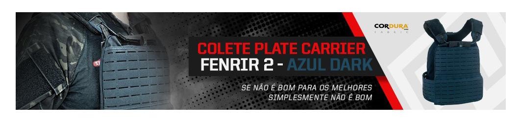 Plate Carrier Para as Placas Balísticas Rígidas