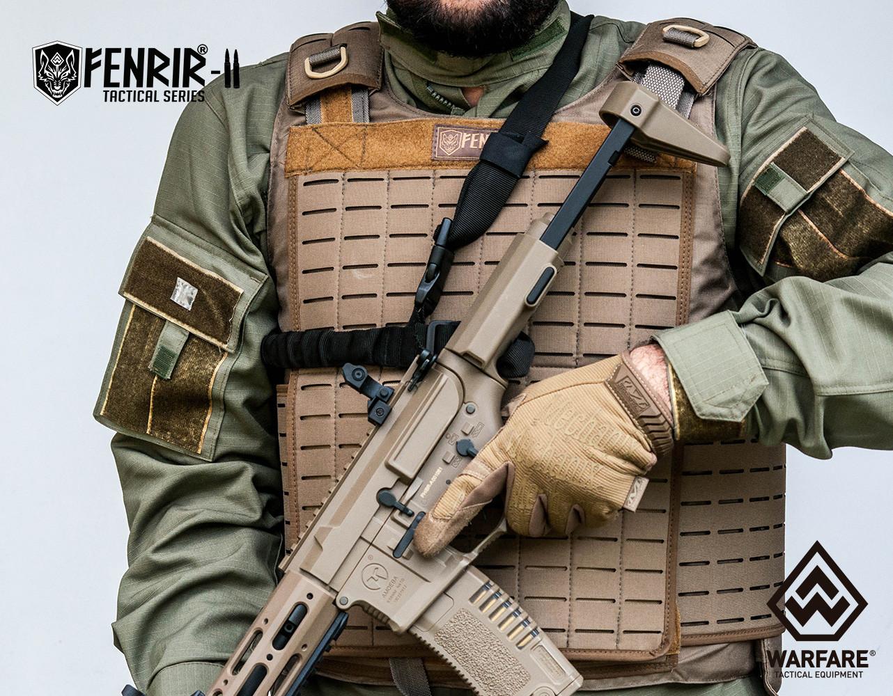 Novo design colete Fenrir II